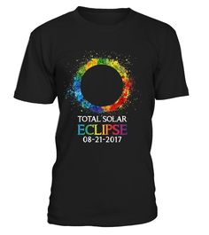Rainbow Paint Total Solar Eclipse 2017..