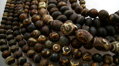 kathy van kleeck: where to start ......acd etched beads from Tibet