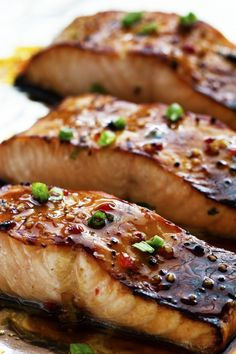 Here's for you the deliciously awesome Best Ever Sweet Chili Garlic Glazed Salmon. So just go and grab this recipe now!
