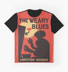 Retro The Weary Blues (music) graphic art t-shirt by aapshop