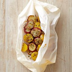 Potatoes with Rosemary and Thyme en Papillote | Williams-Sonoma