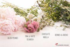 Blush Pink DIY Centerpiece - tutorial on Flower Muse Blog