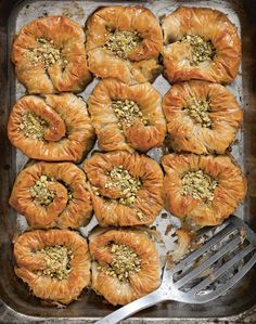 Sweet pistachio Nests Recipe from Istanbul by Rebecca Seal | Cooked