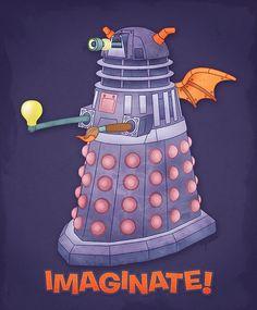 A 'Figment' and 'Dalek mash-up - love it!