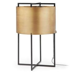 Kave Home Kelley Tafellamp Metaal 50 cm - Goud