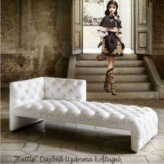 """Mobilyada Moda """"Tuttle"""" Daybed Uzanma Koltuğu Mobilyada Konfor ve Estetiği Bir Arada Arayanlara..."""