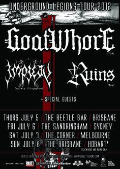 Goatwhore Australian Tour - Details at http://www.bombshellzine.com/blog/2012/04/goatwhore-announce-australian-tour-dates/