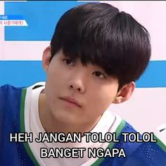 Produce x 101 Quotes Lucu, Jokes Quotes, Jung Jaewon, K Meme, Drama Memes, Memes Funny Faces, Funny Stickers, Derp, Humor