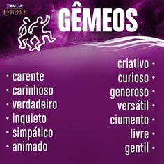 """#Gêmeos #signos #zodíaco #livro ♊"" All About Gemini, My Resume, Osho, Better Life, Zodiac, My Life, Neon Signs, Motivation, Instagram Posts"