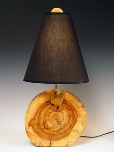 Driftwood/lamp