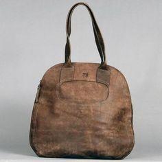 Efika Pear Leather Handbag