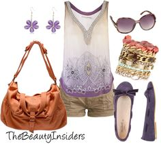 """""""Cute Puple Beaded Top !!"""" by thebeautyinsiders ❤ liked on Polyvore"""