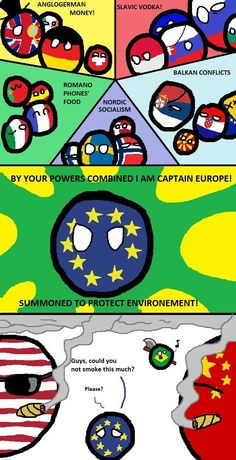 Countryballs Speedart 17 European Union Youtube