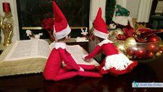 Coastal Mom Creations: Super Easy Elf on the Shelf Ideas A Shelf, Elf On The Shelf, Shelves, Christmas Elf, Xmas, Super Easy, Shelf Ideas, Holiday Decor, Coastal