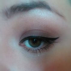 Brown day time smokey eye makeup look using The Balm Nude Tude palette