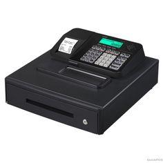 Casio SE-S100 Electronic Cash Register Black
