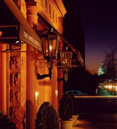 "Capital Grille, DC.  Fabulous dinner - and the waiter's name was ""Pleasure"""