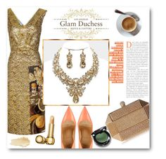 """""""Glam Duchess"""" by glamduchess ❤ liked on Polyvore featuring Prada, Christian Louboutin, Christian Dior and vintage"""