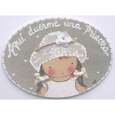 Miniplaca Niña Sombrero Crema 1