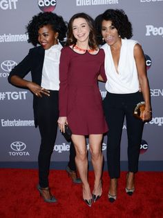 Jerrika Hinton, Caterina Scorsone, Kelly McCreary