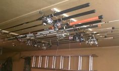 Fishing Poles Storage Ideas Why Do You Own A Fire Extinguisher When Have