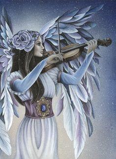 Divine Melody Angel by Jessica Galbreth