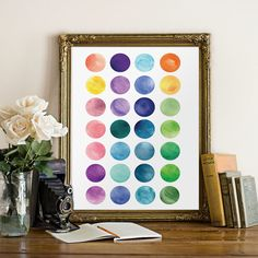 Art print, Printable watercolor, Wall decor, Home poster, Abstract art print, Digital art print, Home decor, Watercolor painting BD-533