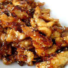 Teriyaki chicken fillet with sesame