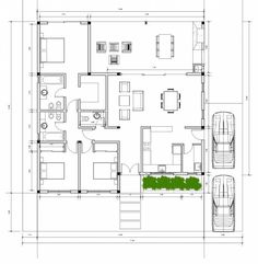 Town House Floor Plan, Round House Plans, Modern House Plans, Casas The Sims Freeplay, Sims House Plans, Villa Plan, Luxury Kitchen Design, Room Planning, Home Design Plans