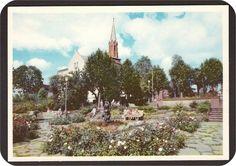 Tønsberg. Minneparken. Domkirken. Mittet 139/025-