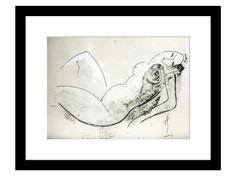 Lying Nude #Woman #Beauty #contemporary #Aga Pietrzykowska