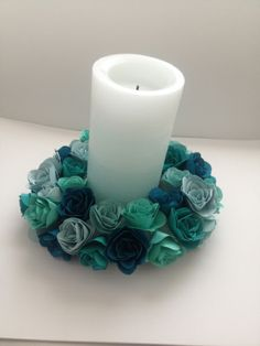 Spiral Flower Originals Die Candle Ring