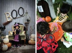 Halloween pictures and set ups