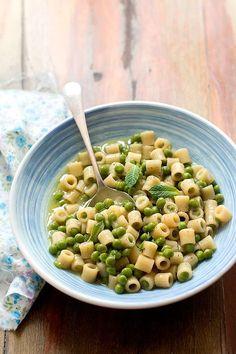 Pasta e piselli, la ricetta tradizionale napoletana