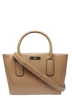 Photo 1 of Tan mini compartment tote bag Latest Fashion, Fashion Online, Petite Outfits, Tote Bag, Mini, Bags, Accessories, Shopping, Petite Clothes