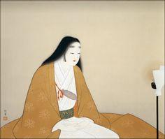 Uemura Shoen, Madame Kusunoki Masahige, 1944