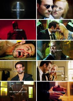 """""""She is important to me."""" #Daredevil"""