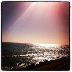 Beautiful sunset in Ventura Beach, CA 93001