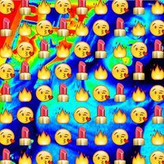 dope emoji galaxy background - Google Search