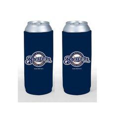 Milwaukee Brewers 24 oz Tall Boy Cooler 2 Pack