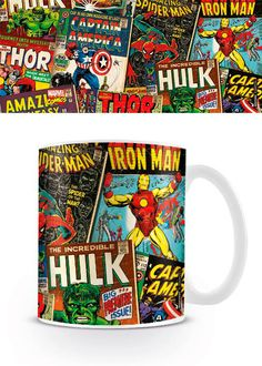 Taza Covers Marvel Cómics