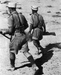 After the fall of France in 1940, from exile in Britain, Charles de Gaulle rallied remaining French forces from around the world to form the Free French Forces. The first significant campaign for the Free French came in North Africa, where they fought first against their own Vichy countrymen, then against the Germans and Italians. In May 1942, the Free French came up against the might of Rommel's Afrika Corp at Bir Hakeim, an oasis in the Libyan desert.