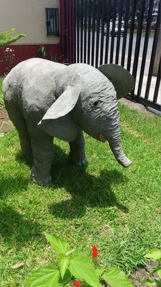 How to Make a Baby Elephant with Paper Mache | Ultimate Paper Mache