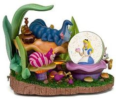 Alice in Wonderland with Caterpillar and Cheshire Cat