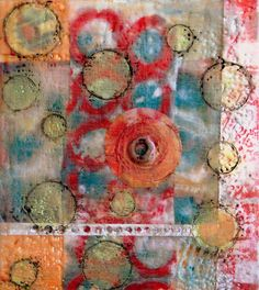 Encaustic Monoprinting