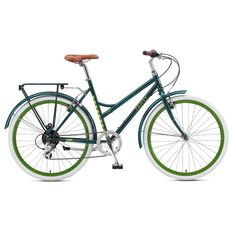 The Burlington by Terry. A women's step through commuter bike. Terrybicycles.com