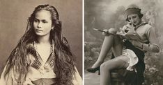 Women Captured 100 Years Ago In #Vintage #Postcards - classic beauty:  (via Bored Panda)