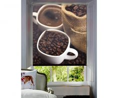 Jaluzea tip rulou Coffee Morning cm - Vivre. Morning Coffee, Concept, Tableware, Decor Ideas, Polo, Products, Dinnerware, Polos, Tablewares