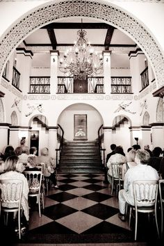 The Grand Lobby Made For A Beautiful Ceremony No Decorations Required Historic 1929 Hotel Decorhollywood Weddingharrison Arkansasboone