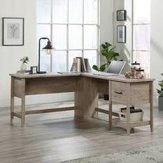 Cletus L-Shape Executive Desk – Executive Home Office Design L Shaped Office Desk, Small Office Desk, L Shaped Executive Desk, Wood Office Desk, L Desk, L Shaped Desk, Home Office Desks, Office Furniture, Office Decor